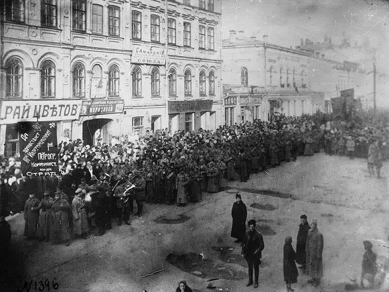 7 октября 1918 года во время Гражданской войны