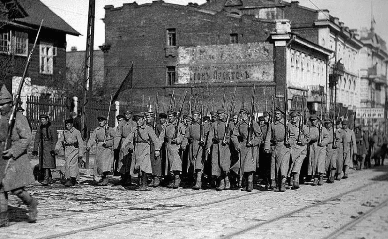 7 октября 1922 года войска Народно-революционной армии Дальневосточной республики (И.П. Уборевич) начали штурм г. Спасска