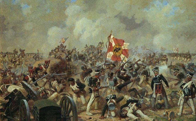 Бородинское сражение. Генеральное сражение