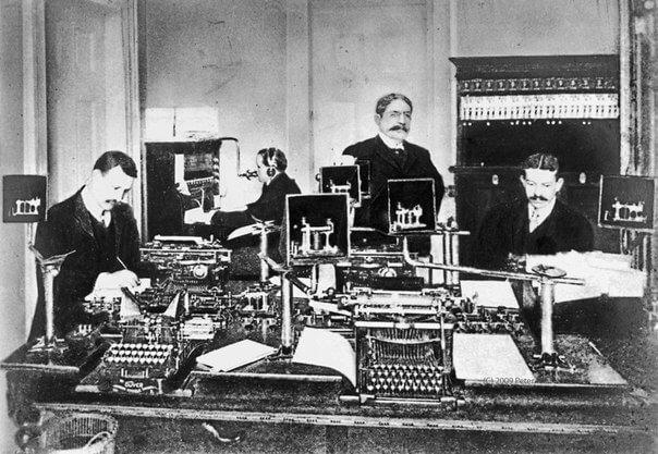 1858 - В Санкт-Петербурге появился городской телеграф
