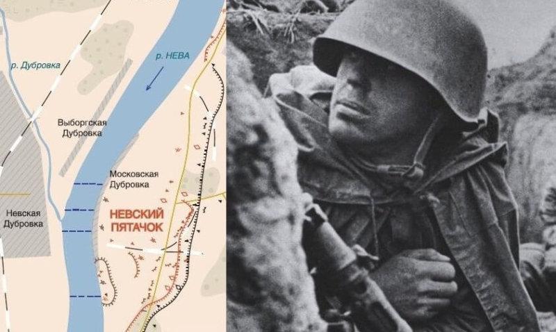 В ночь с 19 на 20 сентября 1941 года десант отбил у немцев плацдарм на левом берегу Невы