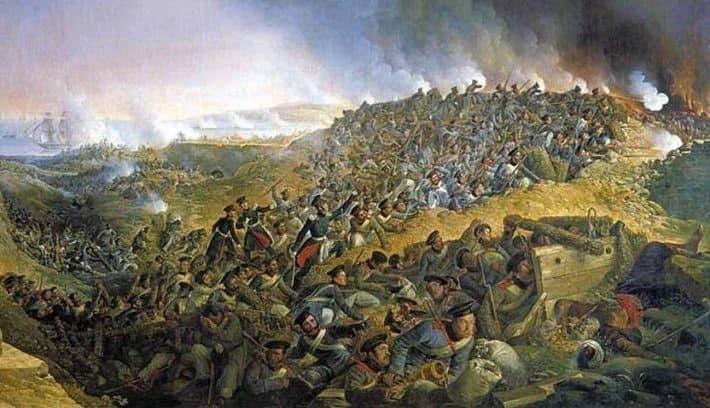 11 октября 1828 года после двухмесячной осады совместными усилиями русских войск и эскадры Черноморского флота А.С