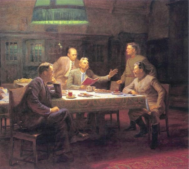 11 октября 1931 года в этот день к Максиму Горькому пришли важные гости
