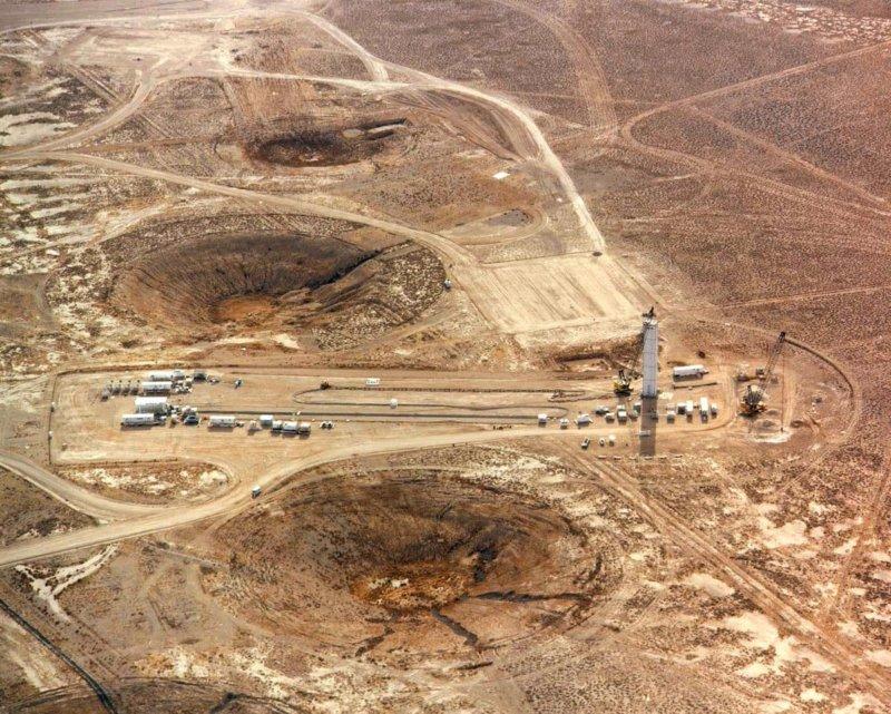 11 октября 1961 года на Семипалатинском полигоне осуществлен первый подземный ядерный взрыв