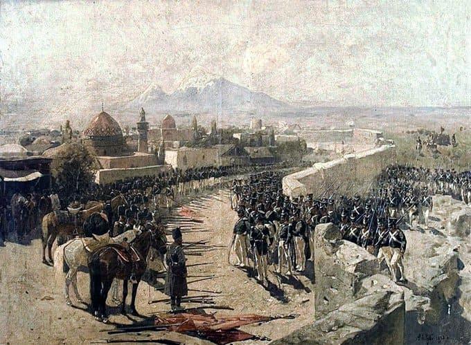 13 октября 1827 года в ходе русско-персидской войны