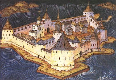 1702 - Русские войска взяли шведскую крепость Нотебург