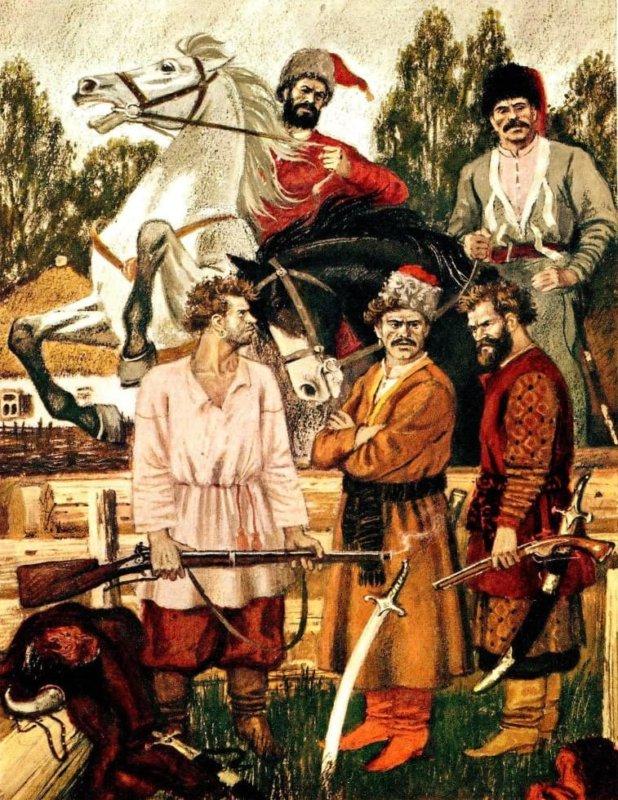 1707 - На Дону вспыхнул народный бунт под руководством сотника Кондратия Афанасьевича Булавина