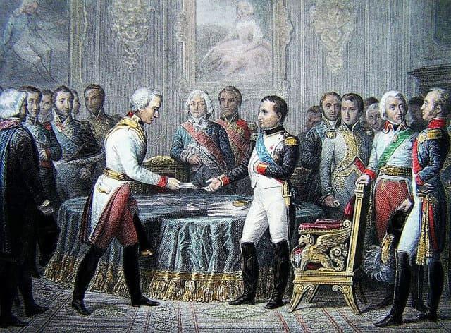 1808 - Подписана секретная Эрфуртская союзная конвенция между Россией и Францией