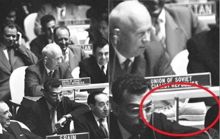 1960 - На 15-й ассамблее ООН