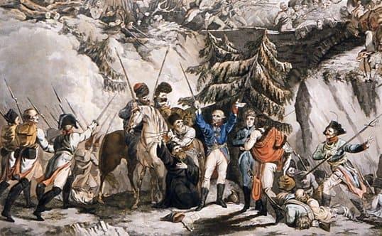 8 октября 1799 года завершился Швейцарский поход А.В. Суворова. Из 20 тыс