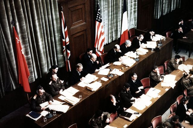 9 октября 1946 года Контрольный совет для Германии рассмотрел просьбы о помиловании осужденных Нюрнбергским трибуналом