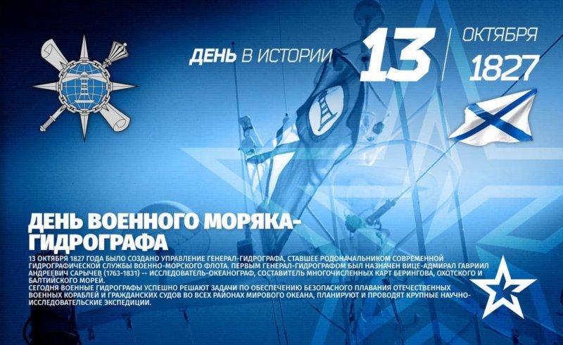 День гидрографической службы ВМФ РФ